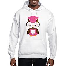 Cute Dental School Graduation Owl Hoodie
