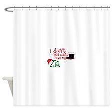 I don't need Santa, I have my Zia Shower Curtain