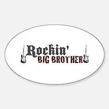Rockin Big Brother Oval Decal