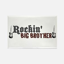 Rockin Big Brother Rectangle Magnet