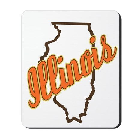 Illinois Mousepad