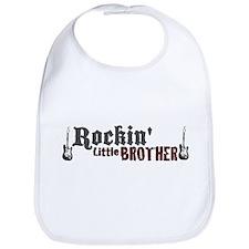 Rockin Little Brother Bib