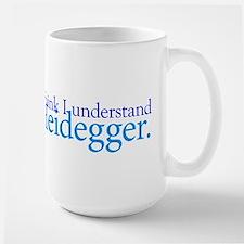 Understanding Heidegger Large Mug