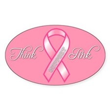 bcthinkpink15x3rect_sticker Decal