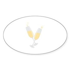 Champagne Decal