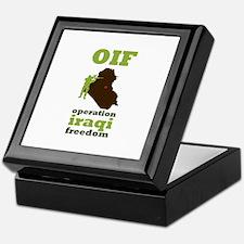 OIF Keepsake Box
