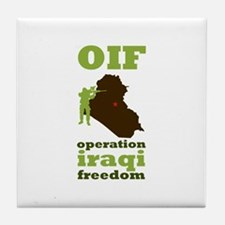 OIF Tile Coaster