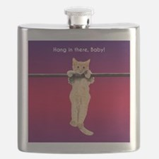 Hang In There Baby Kitten Flask