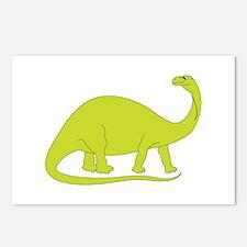 Brontosaurus Postcards (Package of 8)