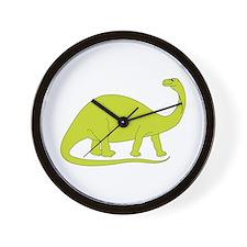 Brontosaurus Wall Clock