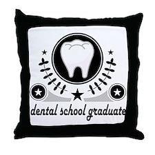 DENTAL SCHOOL GRADUATE Throw Pillow