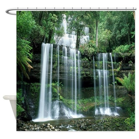Superior Waterfall Shower Curtain