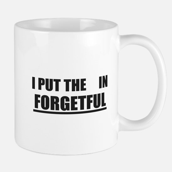 Forgetful Mugs