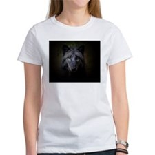 Lone black wolf Tee