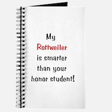 My Rottweiler is smarter... Journal