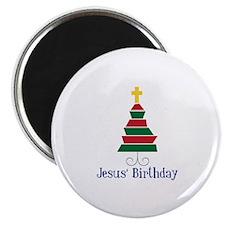 Jesus Birthday Magnets