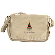 Jesus Birthday Messenger Bag