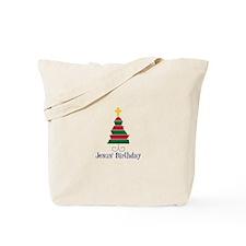 Jesus Birthday Tote Bag