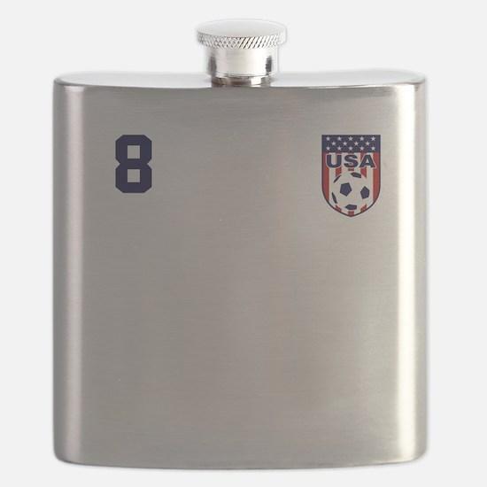 USA soccer Flask