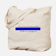 LEO Family Crest Tote Bag