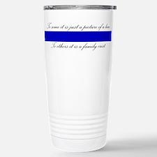LEO Family Crest Travel Mug