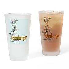 Leonberger Drinking Glass