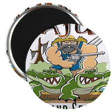 Cajun Homeland Security Magnet