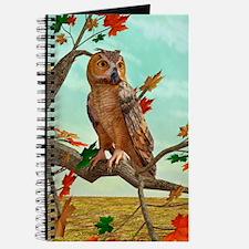 Autumn Owl Journal