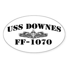 USS DOWNES Decal