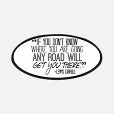 Any Road Lewis Carroll Patches