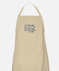 Any Road Lewis Carroll Apron