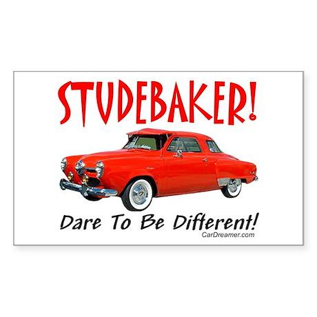 Studebaker-Dare to be Diff Rectangle Sticker