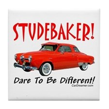 Studebaker-Dare to be Diff Tile Coaster