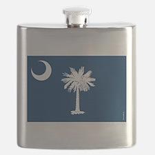 South Carolina State Flask
