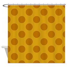 Giraffe Polkadots Shower Curtain