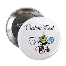 "Personalized To Bee 2.25"" Button"