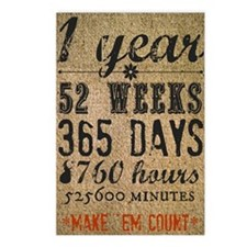 Make Em Count Postcards (Package of 8)
