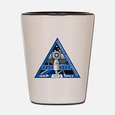 SpX-3 Logo Shot Glass
