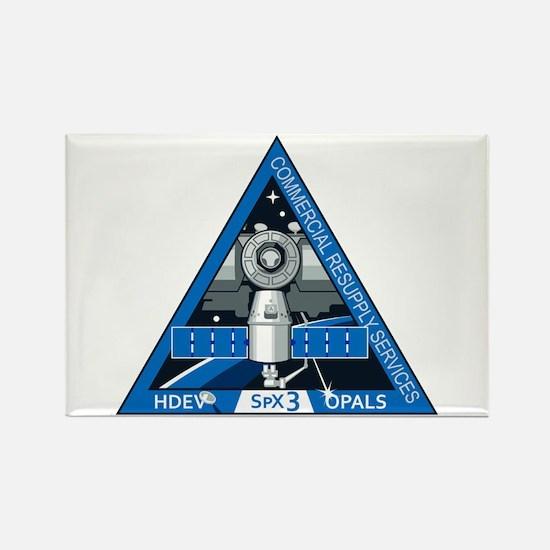 SpX-3 Logo Rectangle Magnet