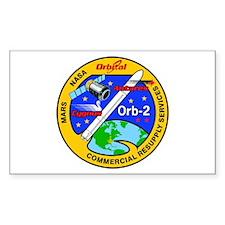 Cygnus Orb 2 Sticker (rectangle)