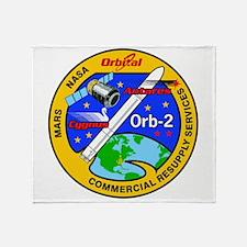 Cygnus Orb 2 Throw Blanket