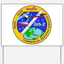 Cygnus Orb 2 Yard Sign