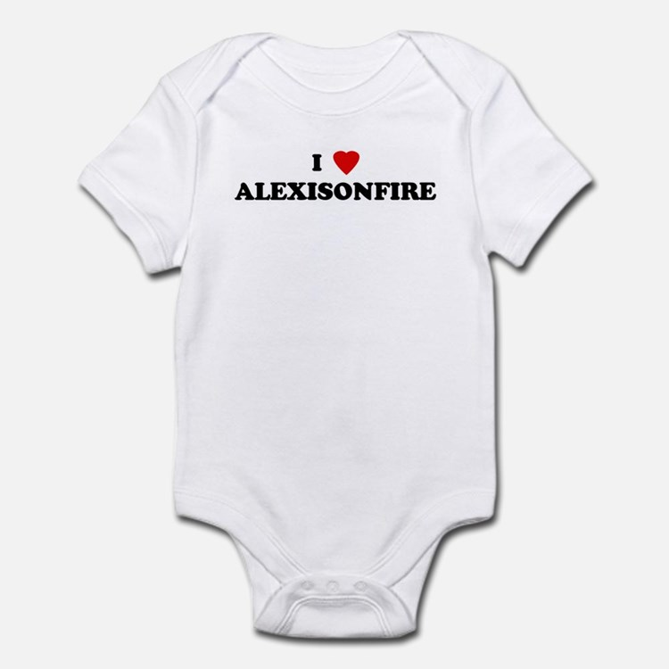 I Love ALEXISONFIRE Infant Bodysuit