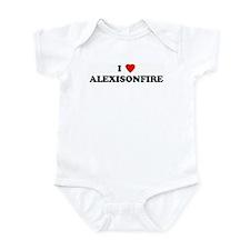 I Love ALEXISONFIRE Onesie