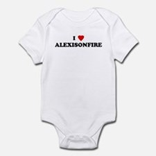 I Love ALEXISONFIRE Onesie
