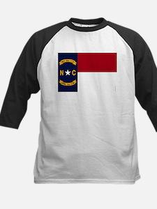 North Carolina State Flag2 Baseball Jersey