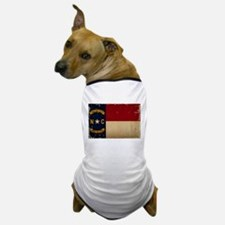 North Carolina State Flag VINTAGE Dog T-Shirt