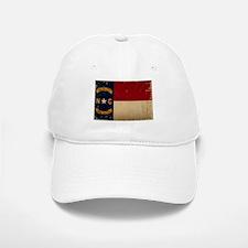 North Carolina State Flag VINTAGE Baseball Baseball Baseball Cap