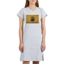 New Jersey State Flag VINTAGE Women's Nightshirt
