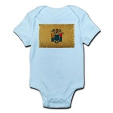 New Jersey State Flag VINTAGE Body Suit